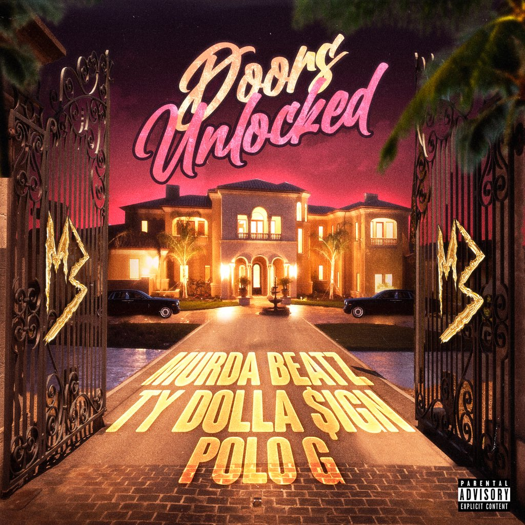 Murda Beatz – Doors Unlocked Ft. Ty Dolla Ign Polo G