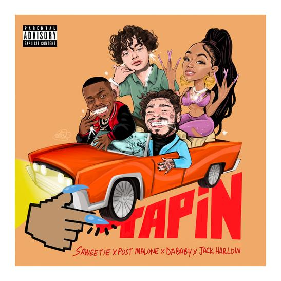 Saweetie Ft. DaBaby, Post Malone & Jack Harlow – Tap In (Remix)