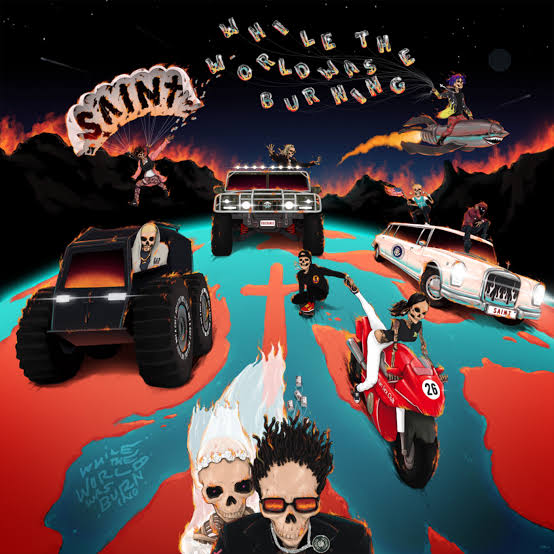 ALBUM: SAINt JHN – While The World Was Burning